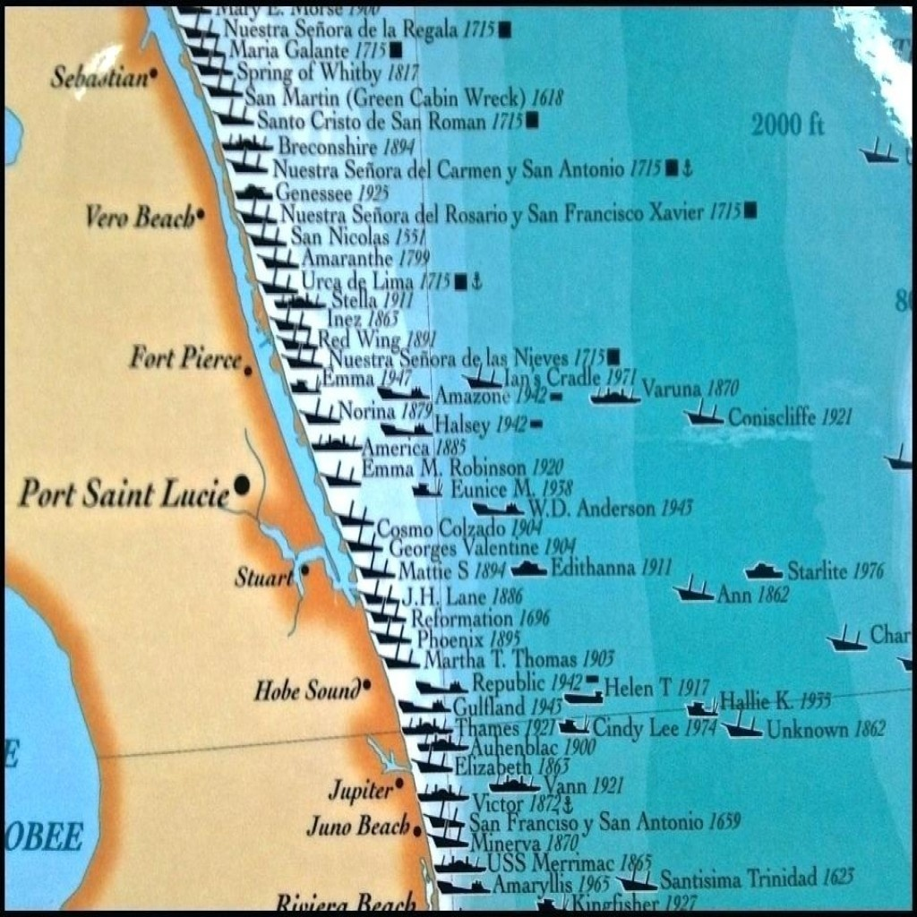 Florida Map East Coast Cities - Map Of East Coast Of Florida Cities