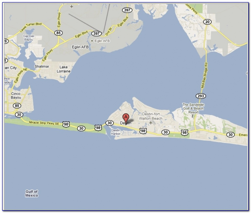 Florida Map Showing Destin Fl - Maps : Resume Examples #kg293Nnpng - Where Is Destin Florida Located On The Florida Map