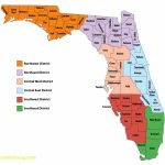 Florida Map With Counties   Lgq   Map Of Florida Counties And Cities