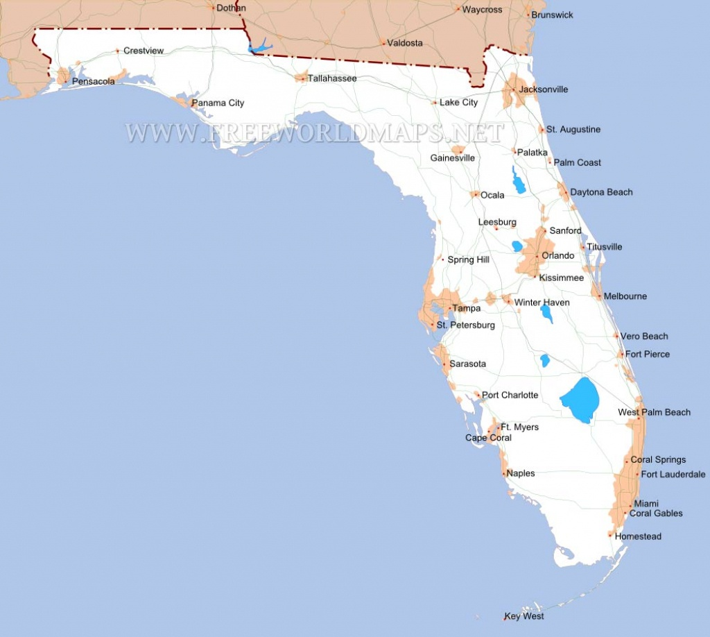Florida Maps - North Fort Myers Florida Map