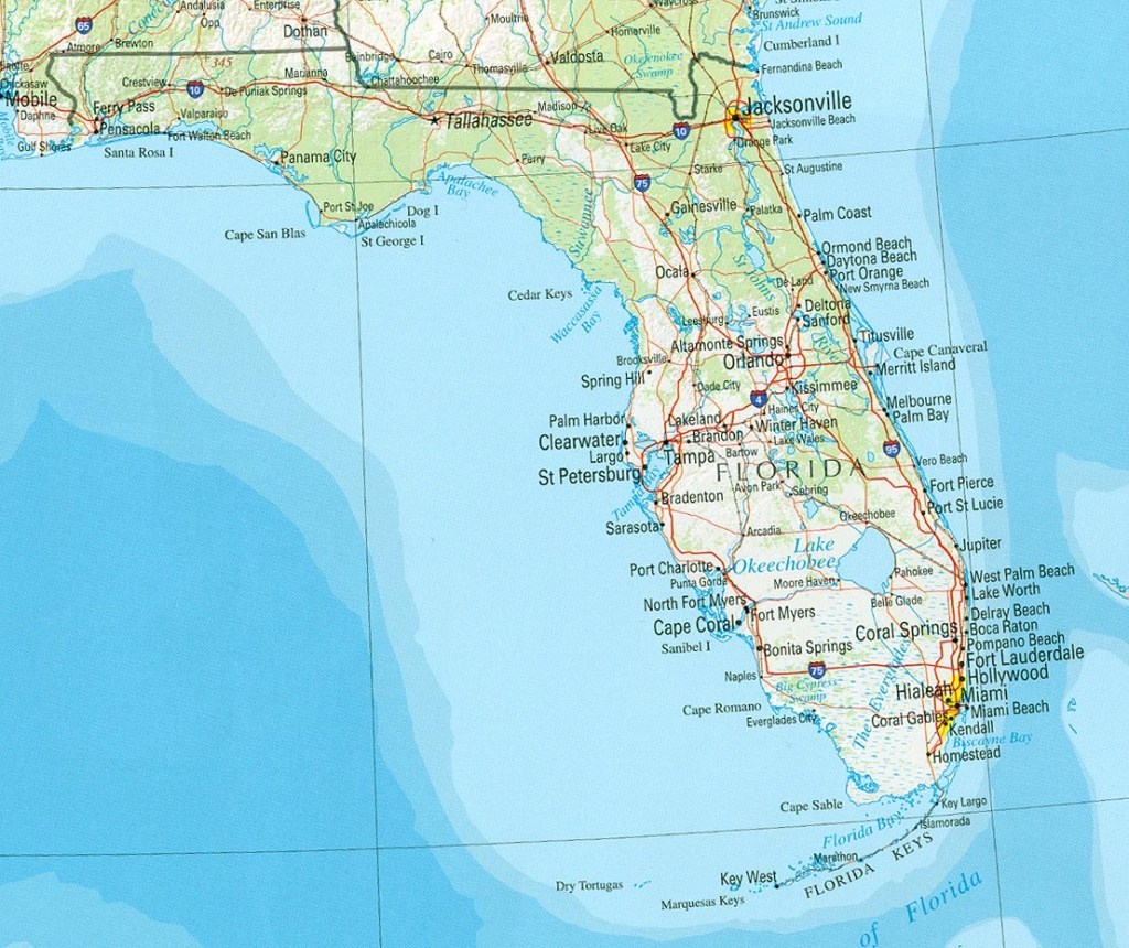 Florida Maps - Perry-Castañeda Map Collection - Ut Library Online - Big Map Of Florida