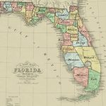 Florida Memory   Governor Milton Letterbooks   Map Of Florida Counties And Cities