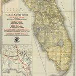 Florida Memory   Map Of Florida, Ca. 1922   Punta Verde Florida Map