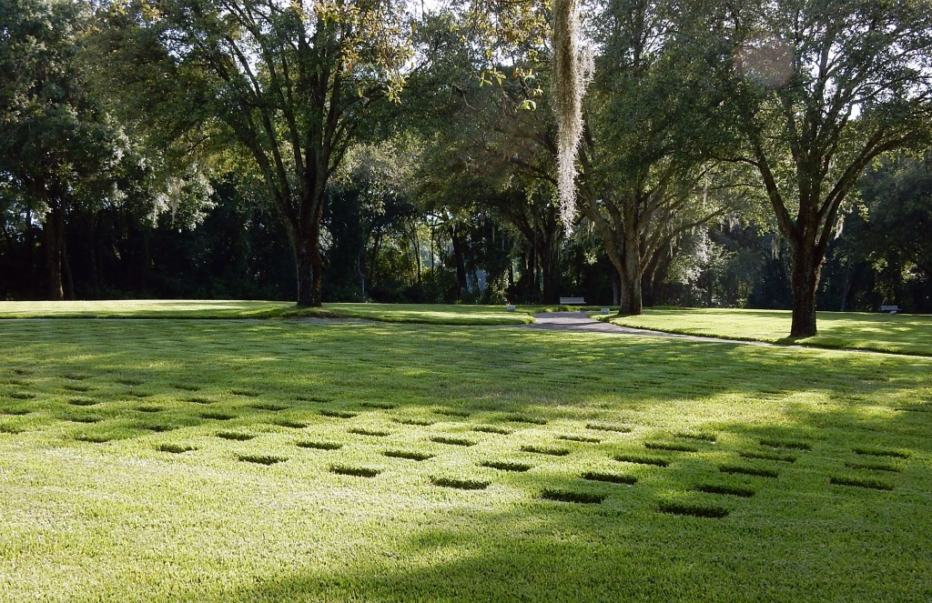Florida National Cemetery In Bushnell, Florida - Find A Grave Cemetery - Florida National Cemetery Map