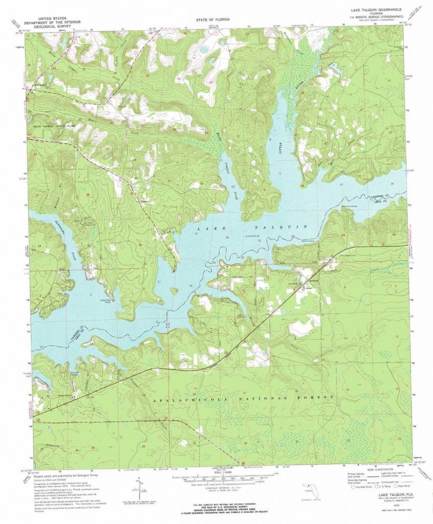Florida Natural Springs Map - Map Of Natural Springs In Florida