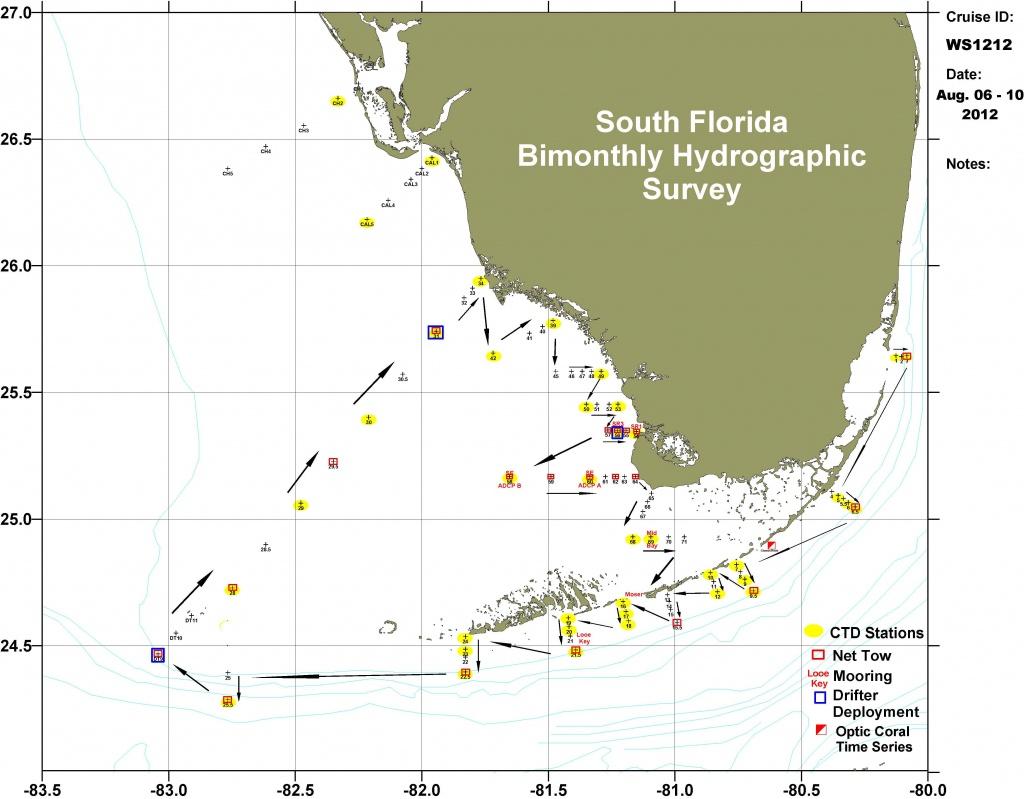 Florida Ocean Depth Chart   Vinylskivoritusental.se - Ocean Depth Map Florida