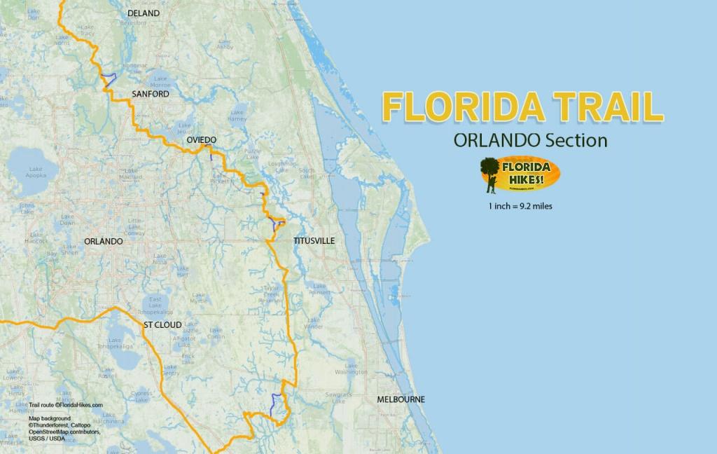 Florida Outdoor Recreation Maps   Florida Hikes! - Cypress Key Florida Map