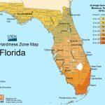 Florida Plant Hardiness Zone Map • Mapsof   Florida Zone Map