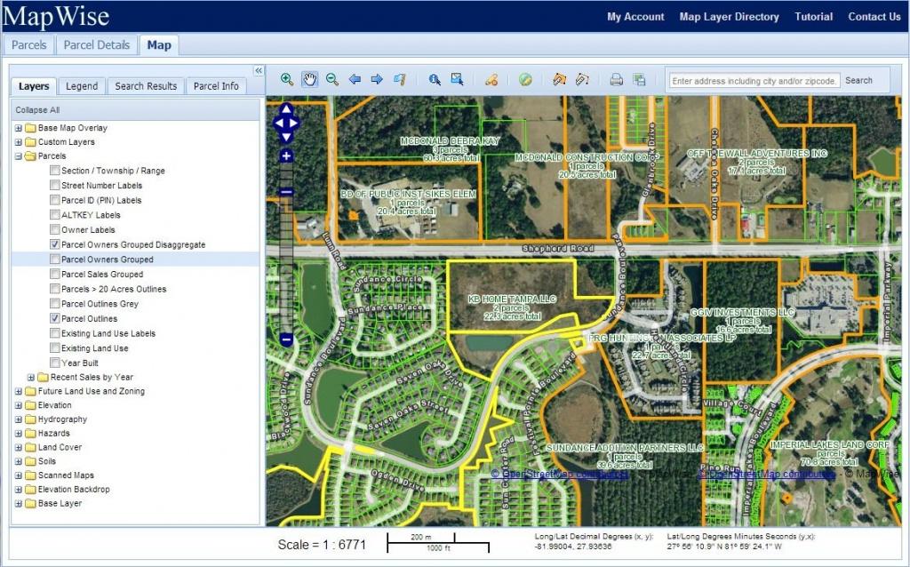 Florida Property Appraiser Parcel Maps And Property Data - Orange County Florida Parcel Map