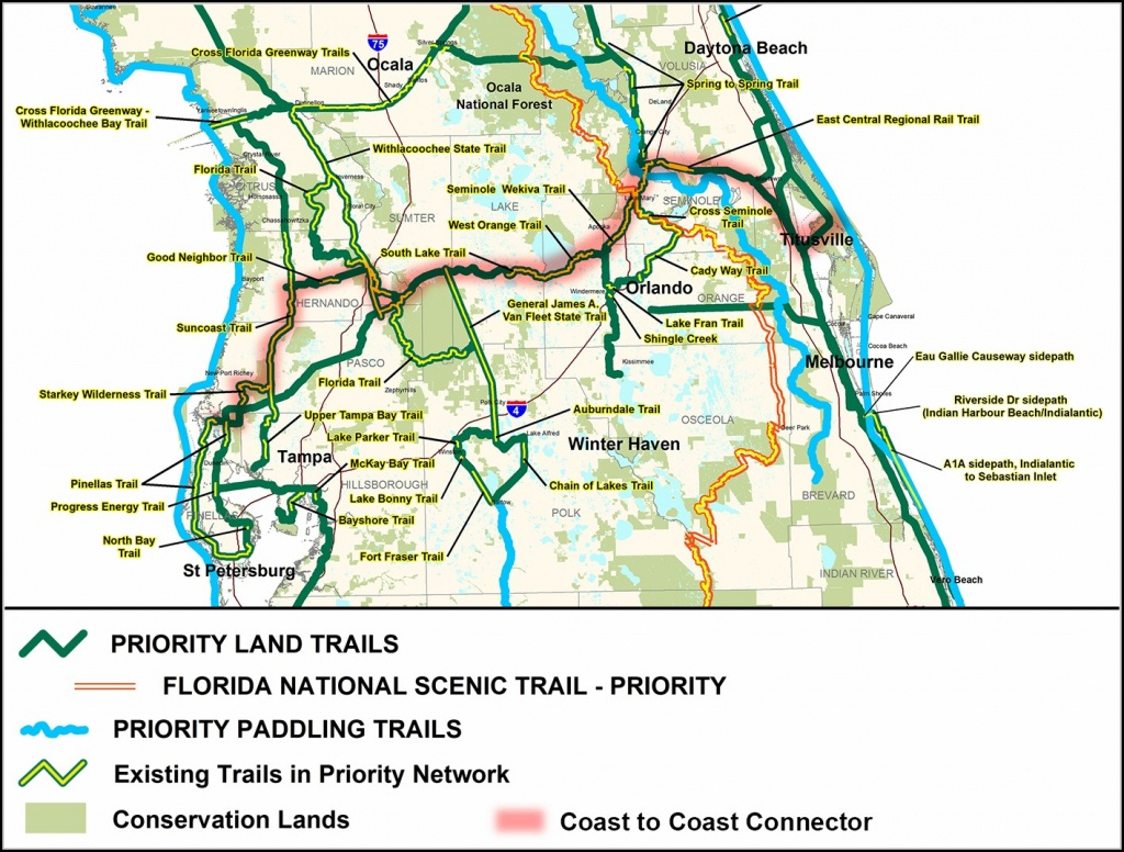 Florida Rails To Trails Map - Map : Resume Examples #mj1Vnrb1Wy - Rails To Trails Florida Map