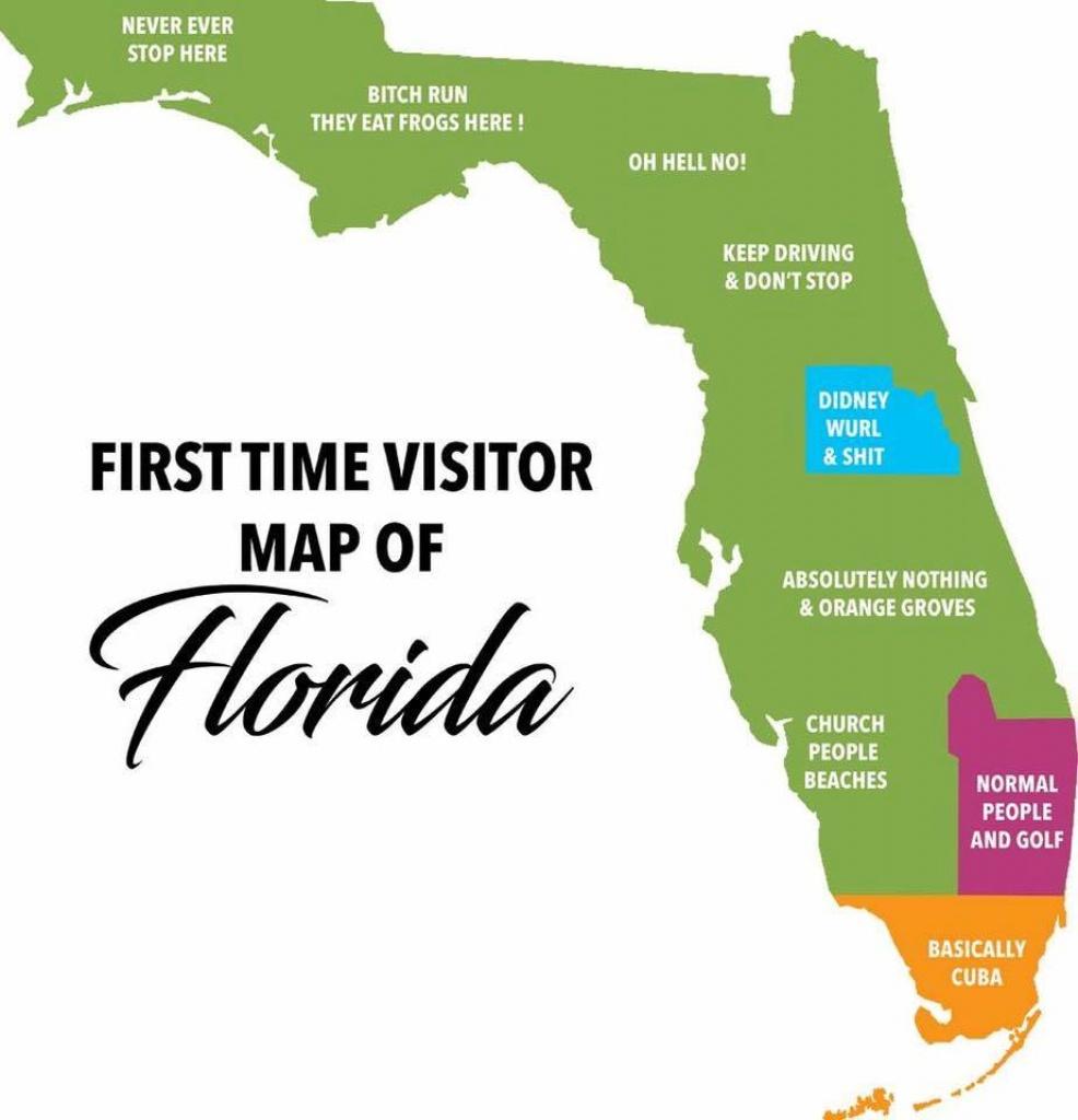 Florida. : Shittymapporn - Florida Orange Groves Map