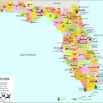 Florida State Maps | Usa | Maps Of Florida (Fl)   Map Of Florida Counties And Cities