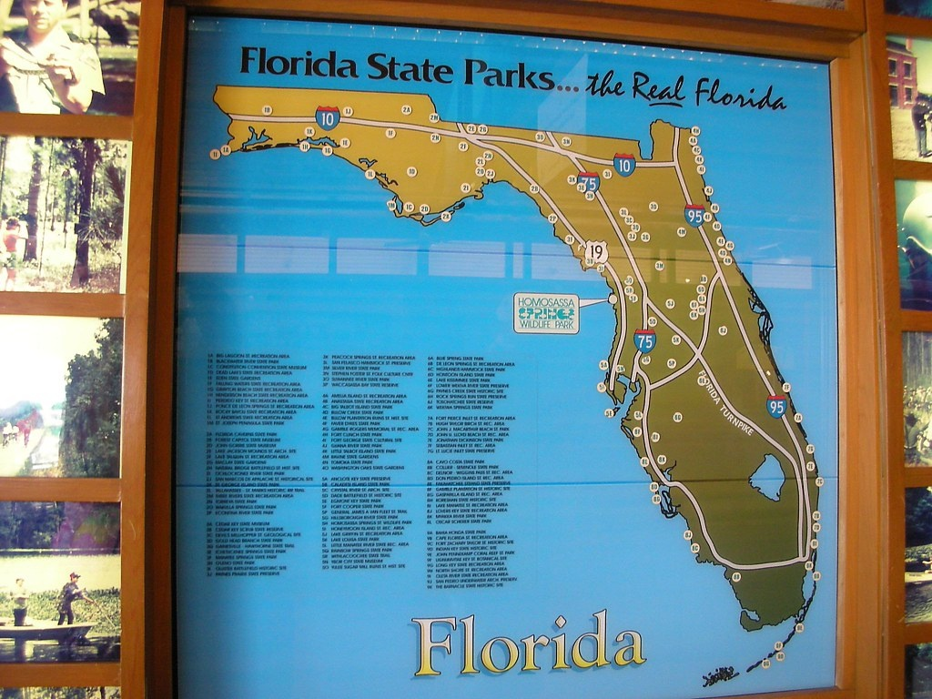 Florida State Parks Map | After Attending The Team National … | Flickr - Florida State Parks Map
