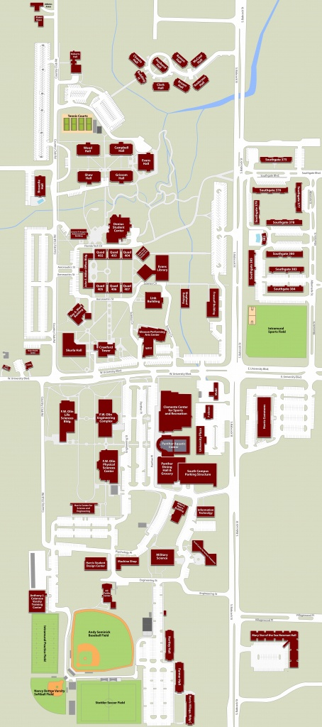 Florida Tech Campus Map | Woestenhoeve - Florida Tech Map