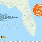 Florida Trail | Florida Hikes!   State Of Florida Map Mileage