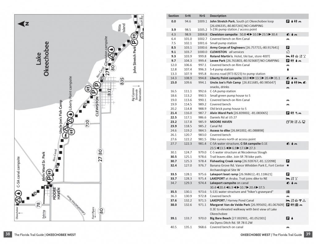 Florida Trail Hiking Guide | Florida Hikes! - Florida Trail Map Pdf