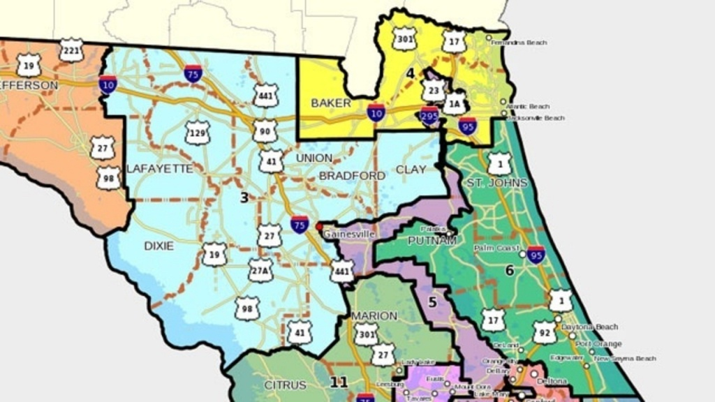 Florida's 6Th Congressional District - Florida 6Th District Map