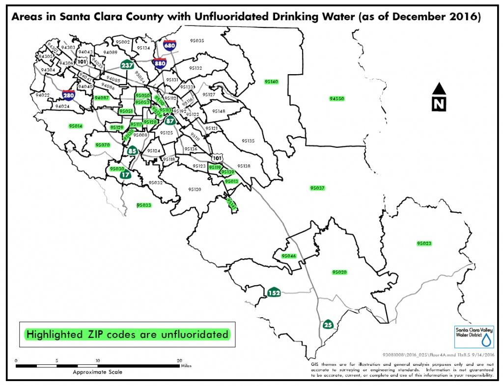 Fluoridation | Santa Clara Valley Water - California Fluoridation Map