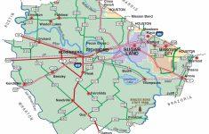 Katy Texas Map