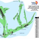 Fort De Sota Park Map   Tierra Verde Florida • Mappery   Terra Verde Florida Map
