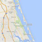 Fort Pierce To Jensen Beach: Scenic Road Through Old Florida   Hutchinson Island Florida Map