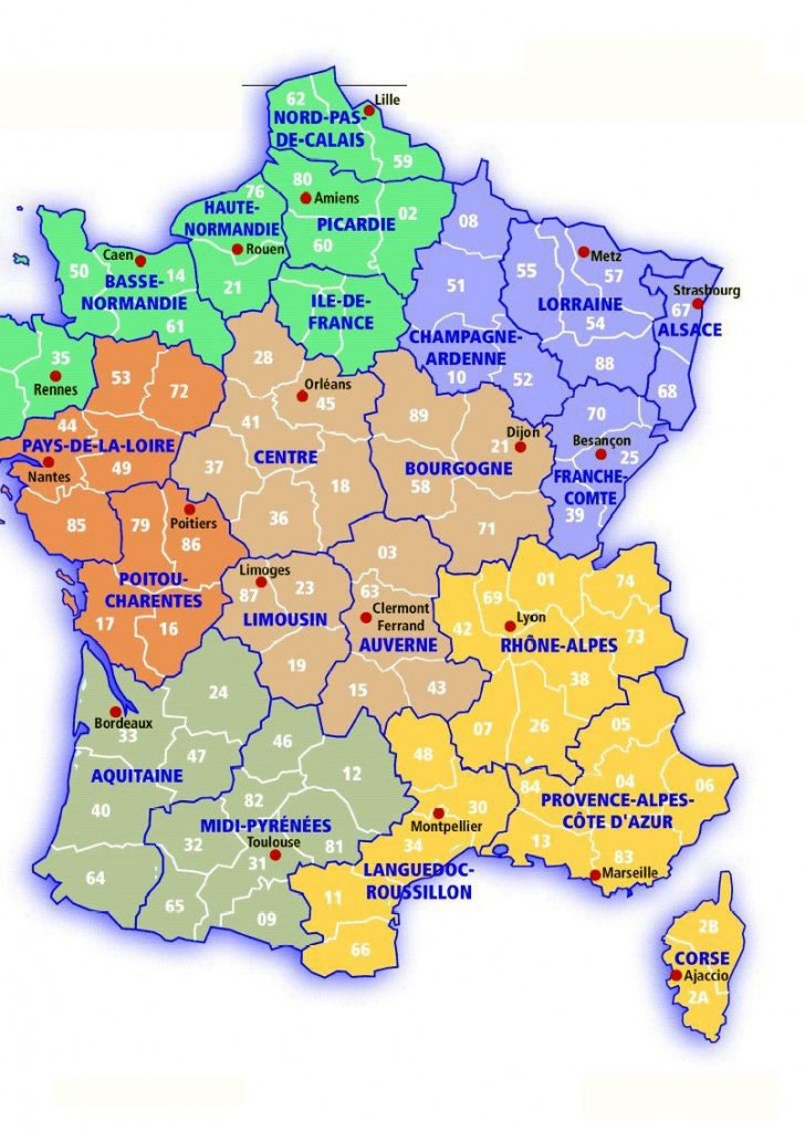 France Maps | Printable Maps Of France For Download - Printable Road Map Of France