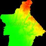Free Butte County, California Topo Maps & Elevations   California Topographic Map Elevations