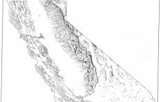California Regions Map Printable
