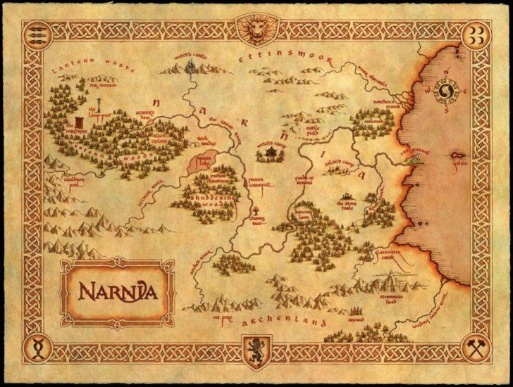 Printable Map Of Narnia