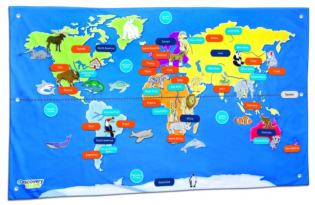 Free Country Maps For Kids A Ordable Printable World Map With - Printable World Map For Kids
