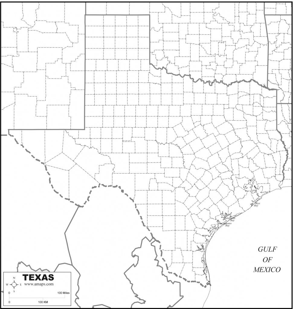 Free Map Of Texas - Free Printable Map Of Texas