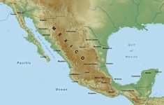 Free Printable Map Of Mexico