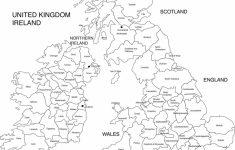 Uk Map Outline Printable