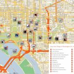 Free Printable Map Of Washington D.c. Attractions. | Washington Dc   Map Of Downtown Washington Dc Printable