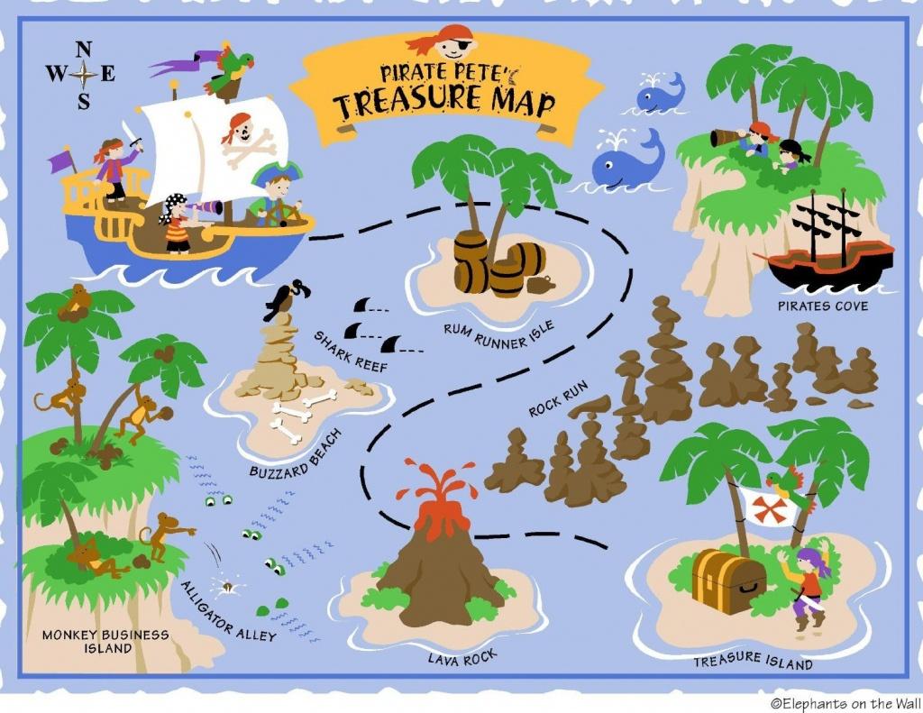 Free Printable Pirate Treasure Map - Google Search | Boy Pirates - Printable Treasure Map