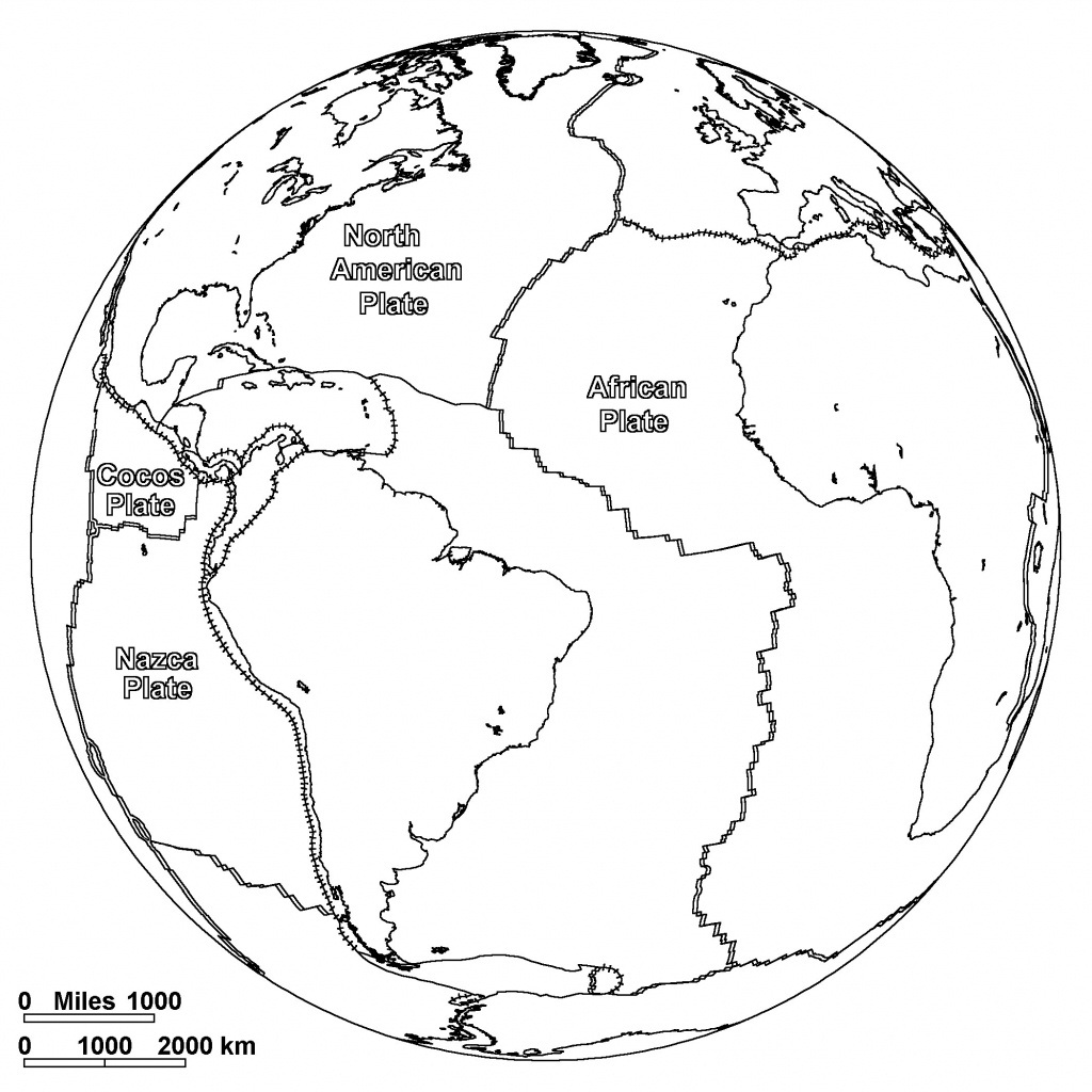 Free Printable World Map Coloring Pages For Kids - Best Coloring - Free Printable Maps For Kids