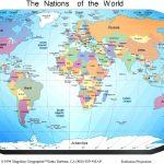 Free Printable World Map | Sksinternational   Free Printable World Map With Countries Labeled For Kids