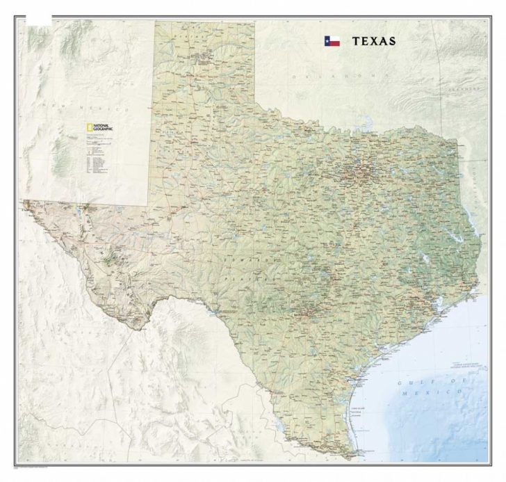 Texas Map Canvas