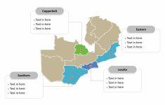Printable Map Of Lusaka
