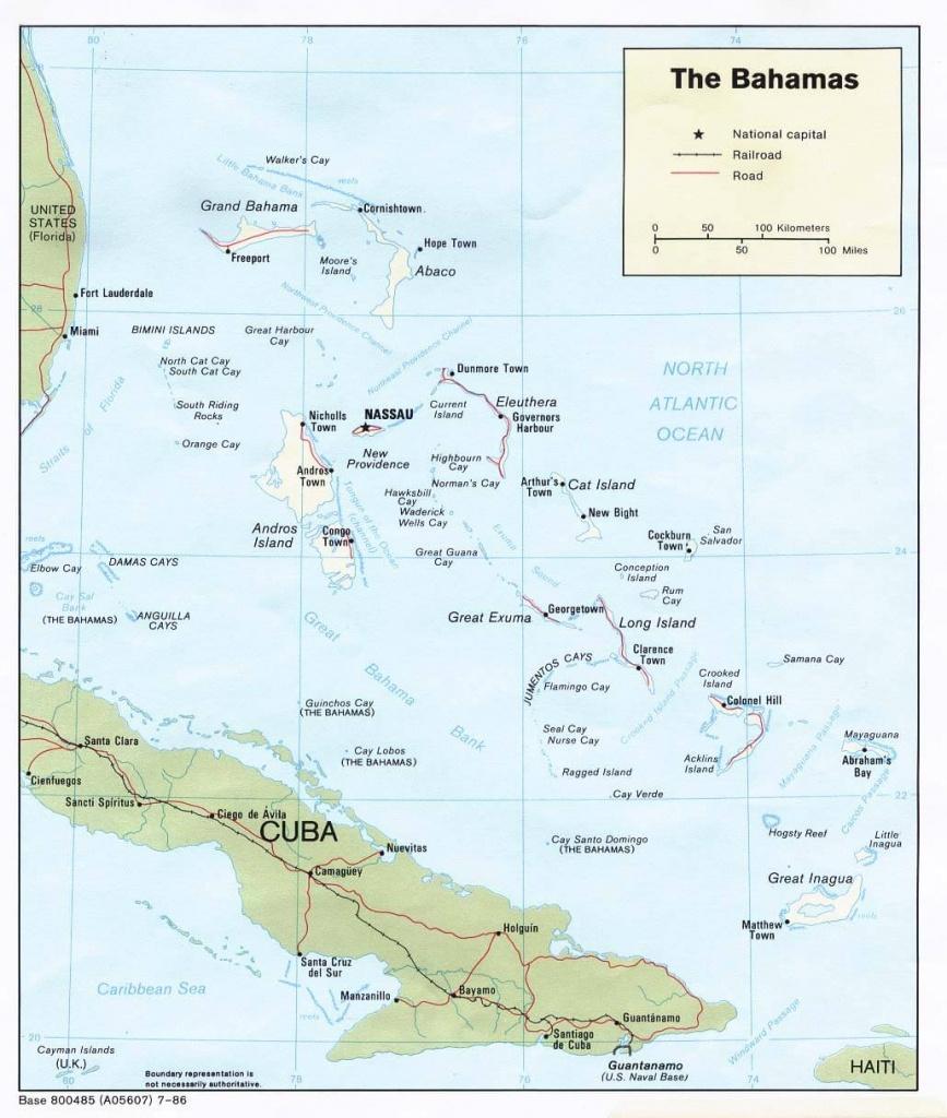 Freeport Bahamas Map - Map Of Florida And Freeport Bahamas