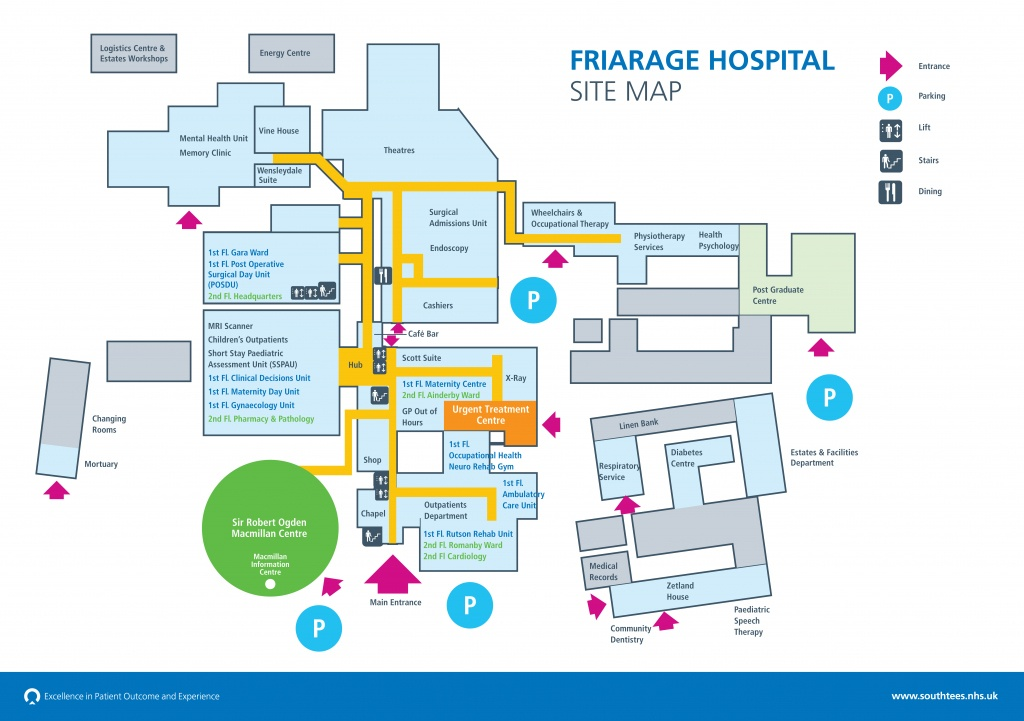 Friarage Campus Map | South Tees Hospitals Nhs Foundation Trust - Florida Hospital South Map