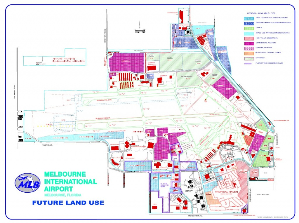 Future Land Use Plan - Florida Tech Map
