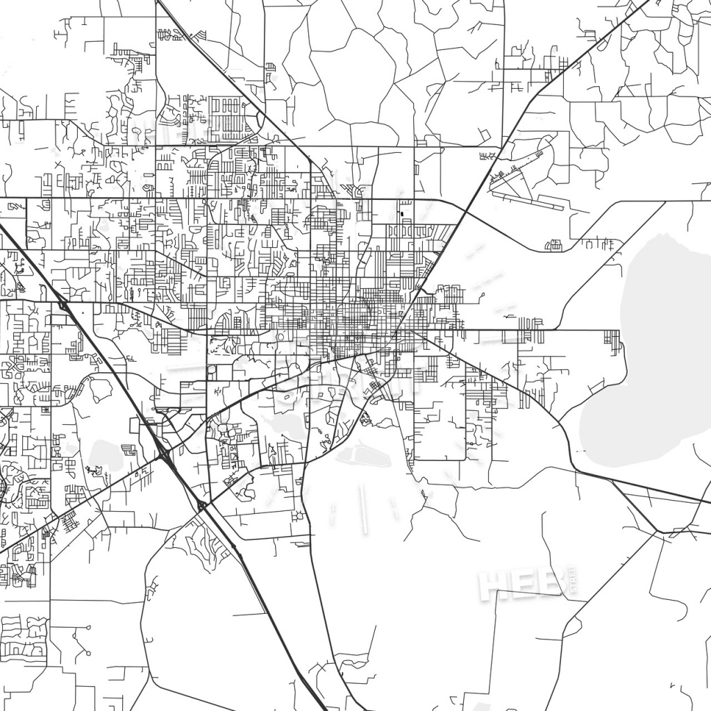 Gainesville, Florida - Area Map - Light - Map Of Gainesville Florida And Surrounding Cities