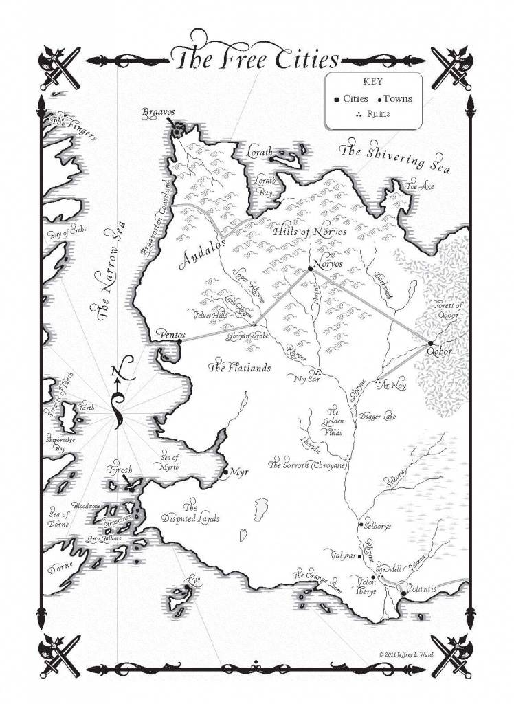 Game Of Thrones Map Pdf - Google Search | Cover Design | Game Of - Game Of Thrones Printable Map