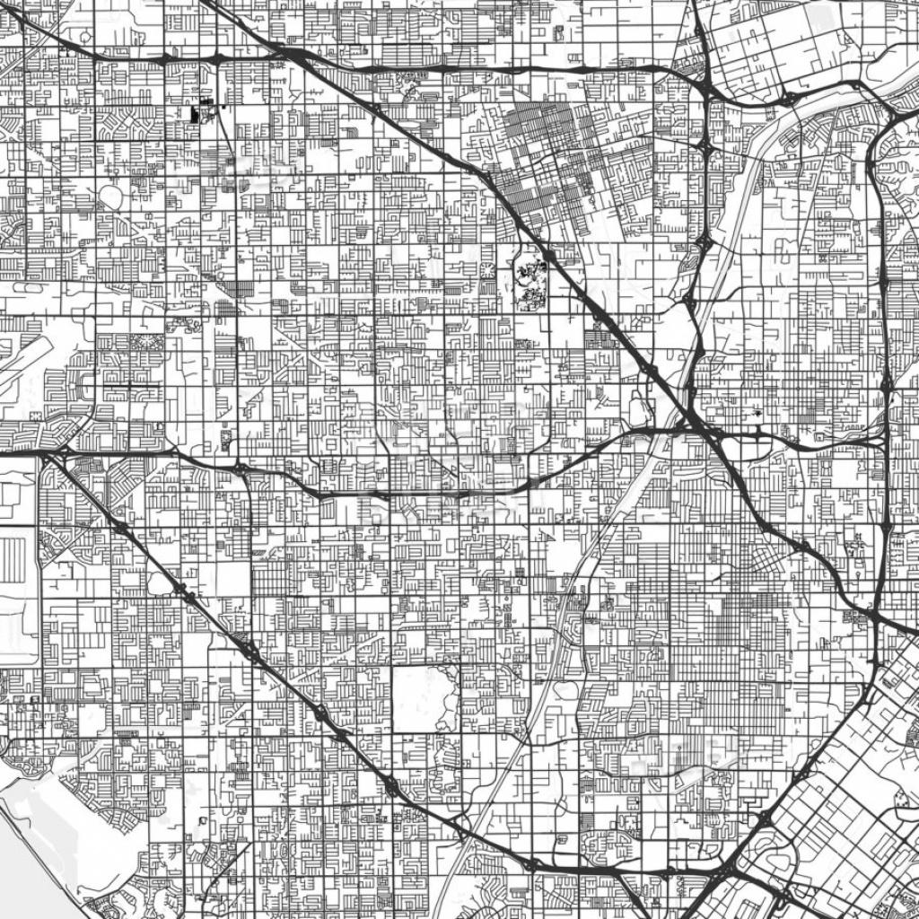 Garden Grove, California - Area Map - Light - Where Is Garden Grove California On The Map