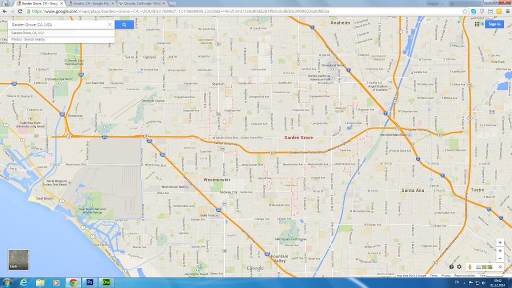 Garden Grove, California Map - Where Is Garden Grove California On The Map