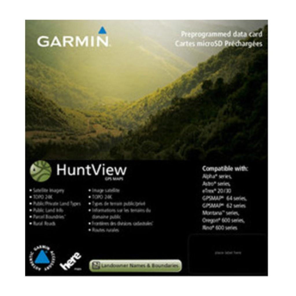 Garmin Huntview Maps Northern California Microsd Card - - Garmin California Map