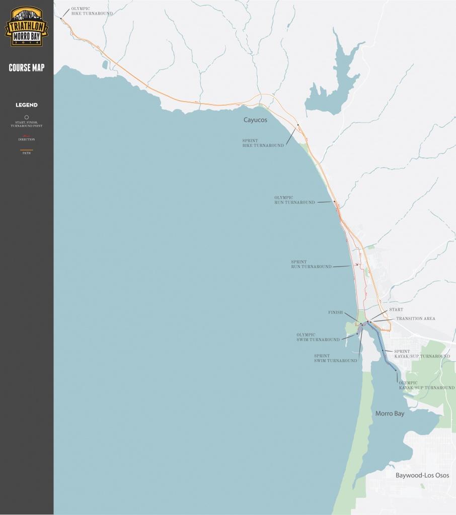 General-Course-Map - Morro Bay Tri - California Fall Triathlon - Morro Bay California Map