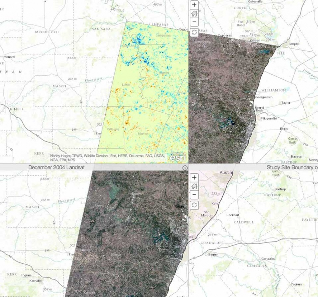 Geographic Information Systems (Gis) - Tpwd - Texas Locator Map Of Public Hunting Areas