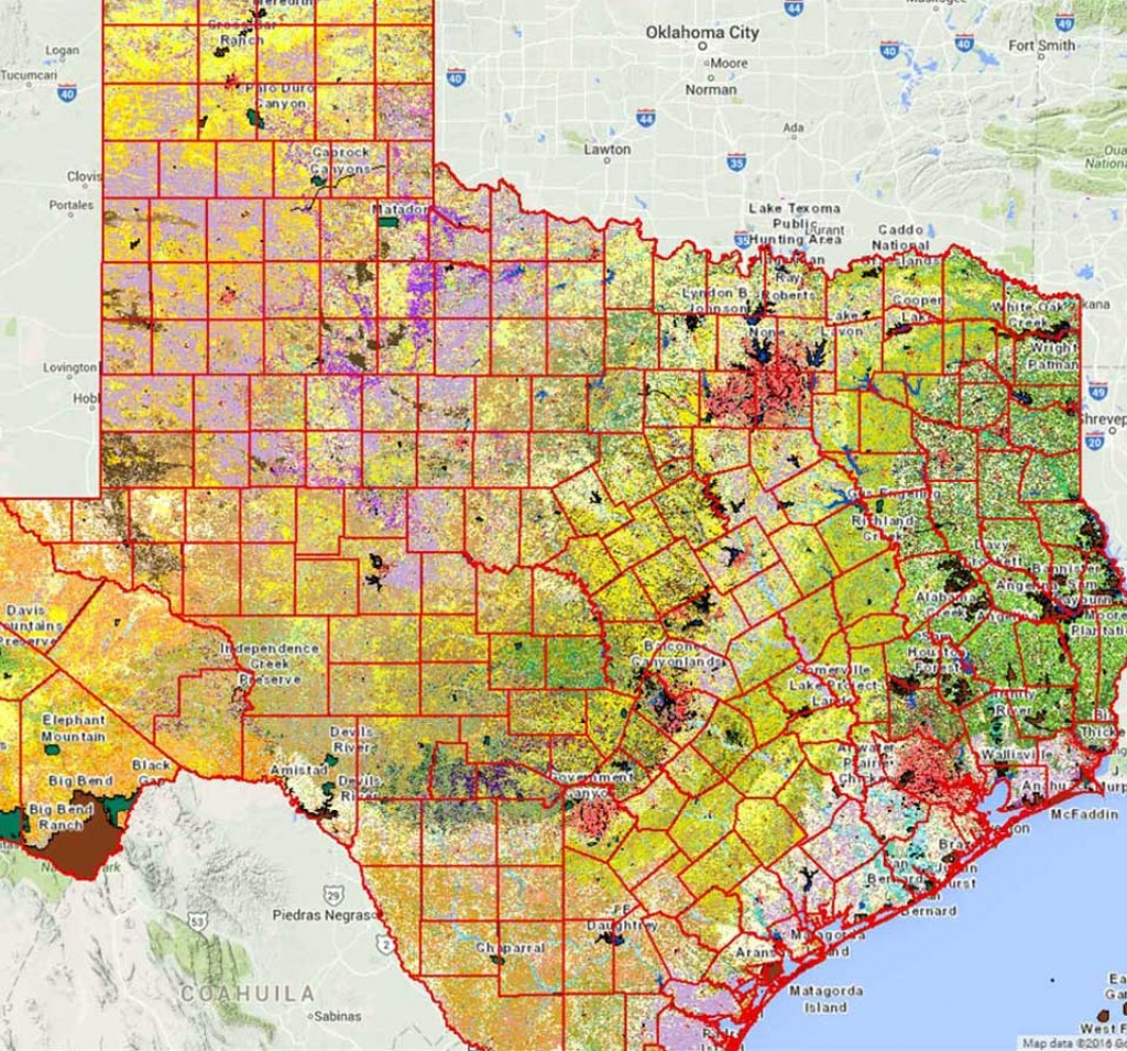Geographic Information Systems (Gis) - Tpwd - Texas Public Hunting Land Map
